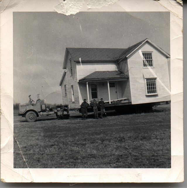 house moved by Grandfather & father